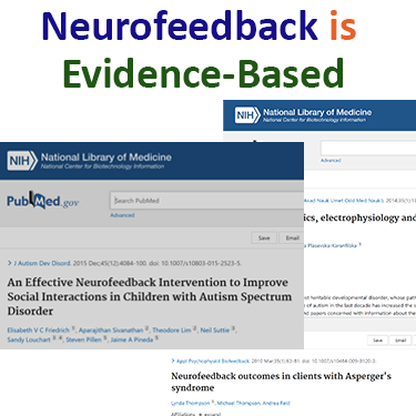 Neurofeedback for autism is evidence-based treatment as shown in PubMed peer-reviewed articles