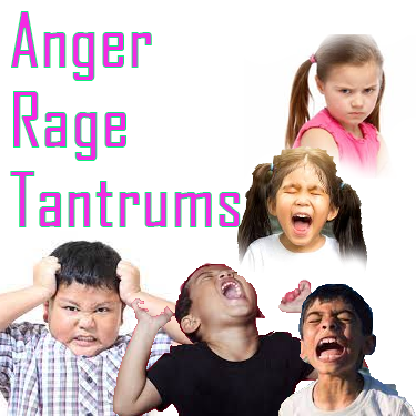 Neurofeedback training for anger, rage and tantrums