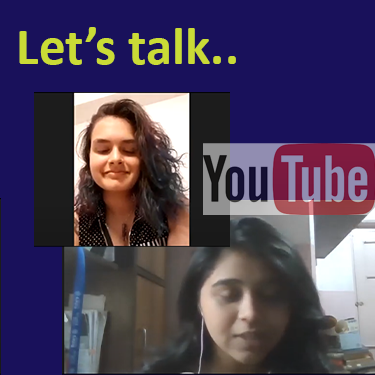 Let's talk about Schizophrenia: a youtube video talk between two people